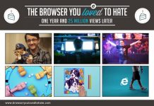 "Microsoft Merayakan 1 Tahun Kampanye ""IE10 Browser You Loved to Hate"""
