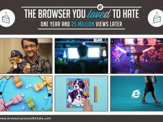 "Microsoft Merayakan 1 Tahun Kampanye ""IE10 Browser You Loved to Hate"""
