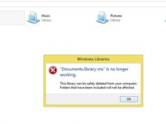 "Cara Mengatasi ""Documents.library-ms is No Longer Working"" di Windows 8"
