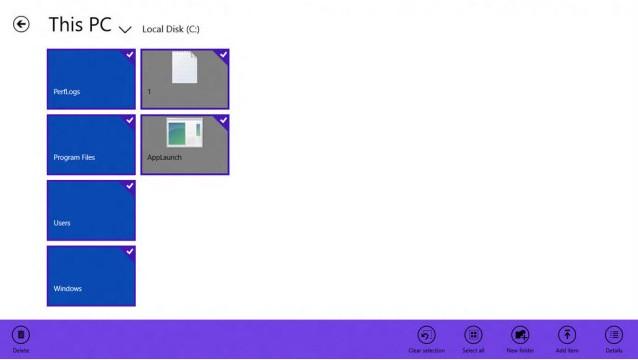 Windows Blue Akan Dilengkapi File Manager dengan Modern UI