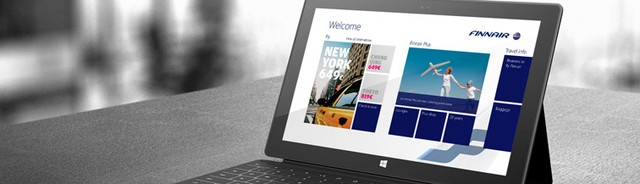 Wow..Tablet Windows 8 Jadi Hiburan dalam Penerbangan!