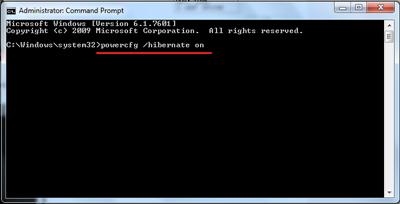 Cara Mengaktifkan Mode Hibernate di Windows