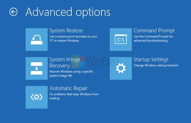 Fitur System Image Recovery Dihilangkan dari Windows Blue?