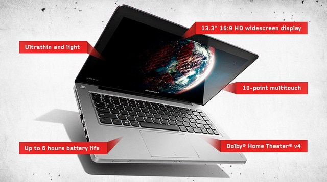 Lenovo Membuat Dua PC Touchscreen Terbaru Berbasiskan Windows 8