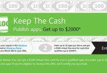 Microsoft Berani Membayar $100/per Aplikasi Baru Untuk Developer