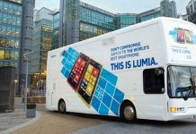 Nokia Lumia Berjalan-Jalan Kelilingi Inggris