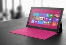 Microsoft Mendapatkan Hak Paten untuk Surface Touch Cover