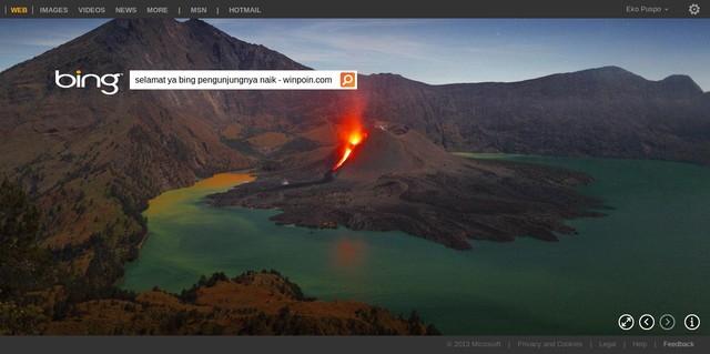 Pengguna Bing Meningkat