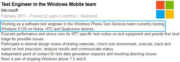 Rumor: Windows 9 dan Windows Phone 9 Telah Diumumkan Microsoft