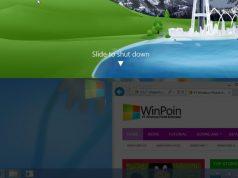 Windows Blue Dilengkapi Fitur Slide to ShutDown