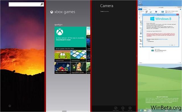 Windows Blue Dapat Melakukan Snap Hingga 4 Layar