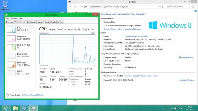 Windows Blue Build 9364 telah Bocor ke Internet!