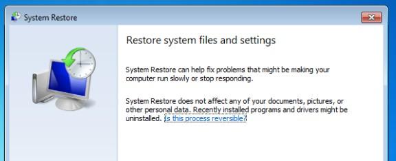 Apa itu System Restore?
