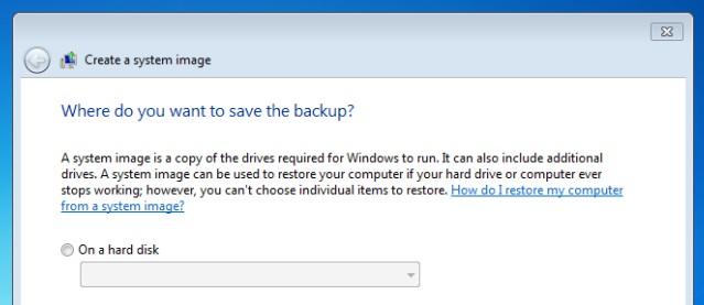Apa beda System Restore dan System Image Backup?