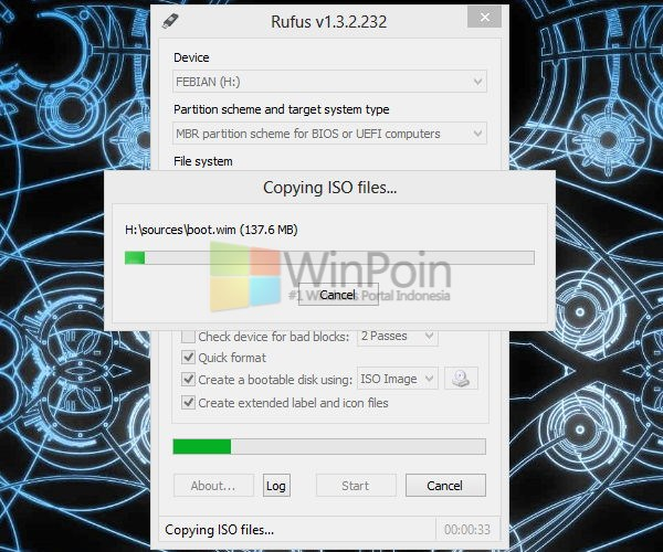Cara Install Windows 7 dengan Flashdisk