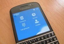 Aplikasi Microsoft Skype Rilis Debut Betanya di BlackBerry Q10