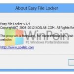 Easy File Locker v1.4