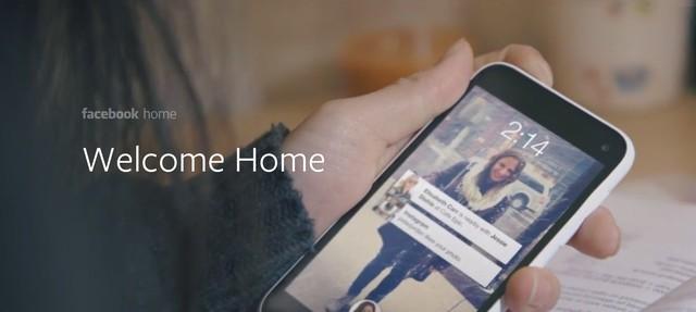 Facebook Home Sudah Bisa Didownload di Google Play