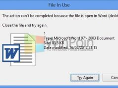 Kenapa File atau Folder yang Terbuka di Windows Tidak Bisa Dimanipulasi?