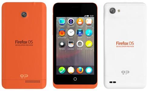Smartphone dengan Firefox OS dirilis Juni Ini