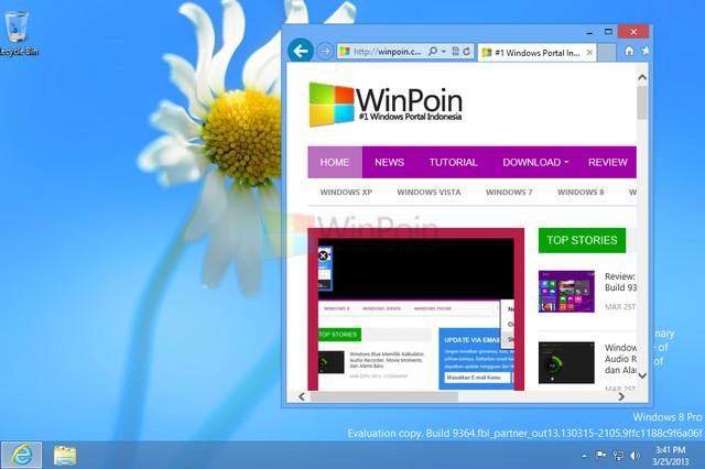 """Windows 8.1 (Blue) Bisa Boot Langsung ke Desktop pada """"Kiosk Mode"""""""