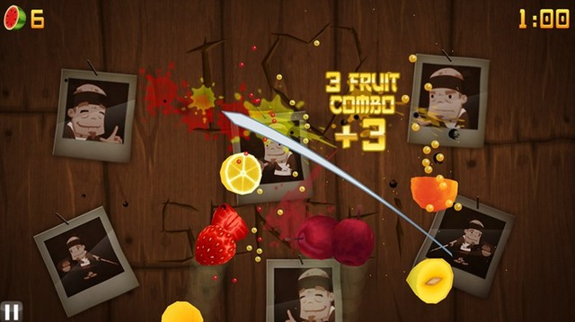 Fruit Ninja Menjadi Game Terpopuler di Windows 8