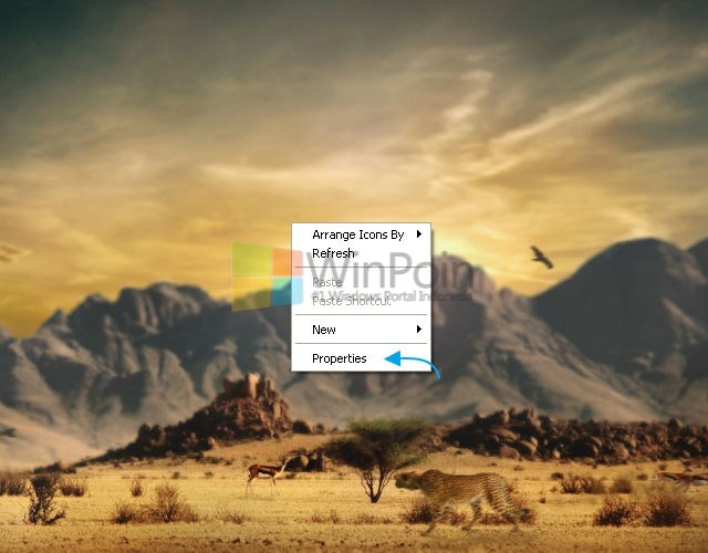 Cara Mengganti Screensaver Windows XP