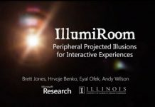 Microsoft Menampilkan IllumiRoom Yang Meningkatkan Pengalaman Bermain Game