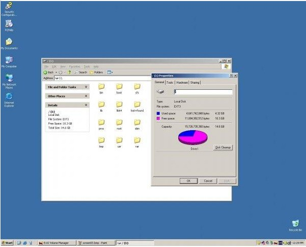 Ext2 FSD (File System Driver)