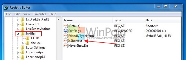 Cara Menghilangkan Tanda Shortcut di Windows 7