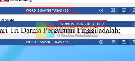 Cara Cepat Menyimpan Semua Dokumen Word 2013 yang Terbuka