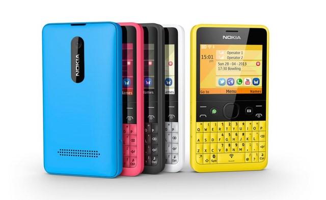 Nokia Rilis Ponsel QWERTY Versi Asha 210