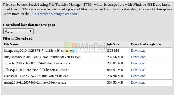 Microsoft Merilis Office Office 2010 SP2 Public Beta