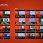Microsoft Office 2013 memang masih terbilang baru, dan banyak pengguna Office 2013 yang masih bingung dengan cara penggunaannya. Untuk itu Microsoft merilis aplikasi Windows 8 berisi tutorial Office 2013 yang mereka beri nama Office Webinar.