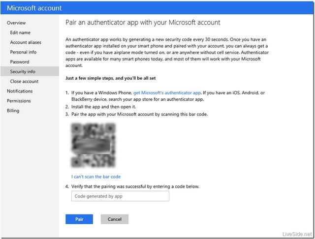 Microsoft Account Akan Segera Dilengkapi Otentikasi Ganda