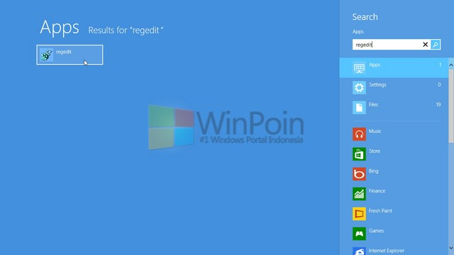 Cara Mengedit Registry di Windows 8
