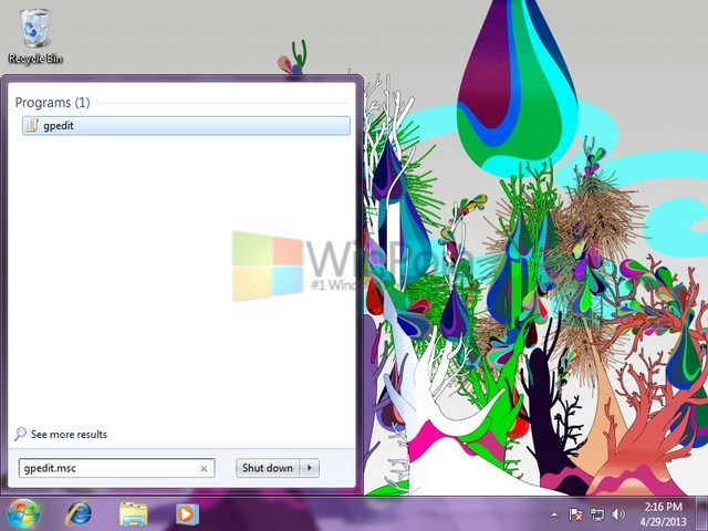 Cara Menyembunyikan System Reserved Partisi di Windows 7