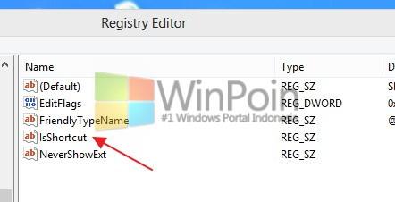 Cara Mudah Menghilangkan Tanda Shortcut di Windows 8