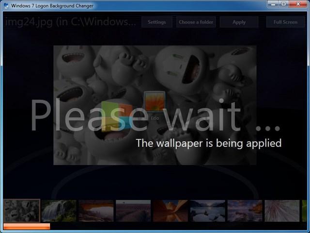 Download windows 7 logon background changer terbaru winpoin - Windows 7 wallpaper changer software ...