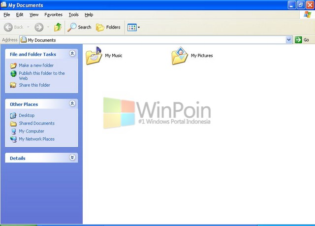 Cara Menyembunyikan File atau Folder di Windows XP