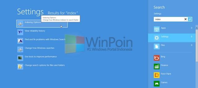 Cara Menambahkan Index pada Windows 7 dan Windows 8