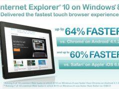 Internet Explorer: Respon Touch dan Browser Lebih Cepat