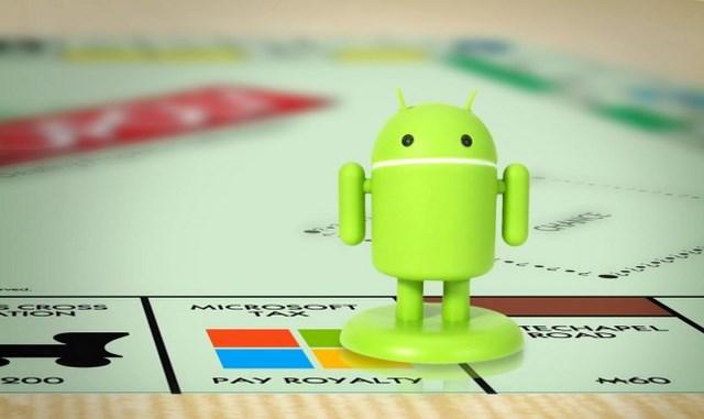 Microsoft Meraup Banyak Untung Dari Paten Android Pada Tahun 2013