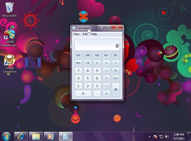 Cara Meminimize Semua Window Dengan Aero Shake di Windows 7