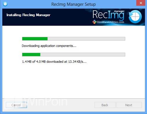 Cara Backup Windows 8 + Modern Apps + Software yang Terinstall dengan RecImg