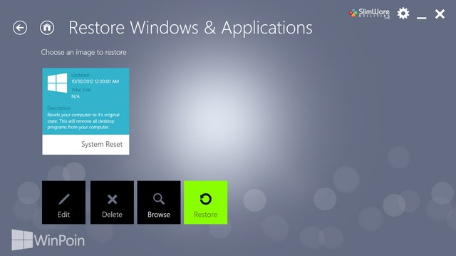 Cara Backup Windows 8 + Modern Apps + Software yang Terinstall dengan RecImg