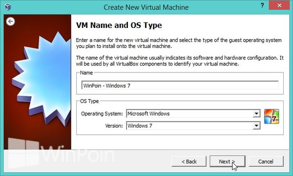 Cara Instal Windows 7 di VirtualBox Beserta Gambar