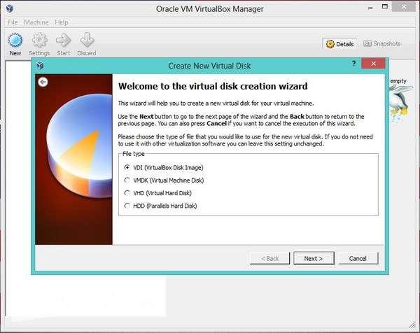 cara menginstal virtual box