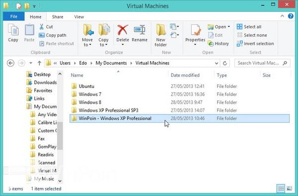 Cara Instal Windows XP di VMware Player
