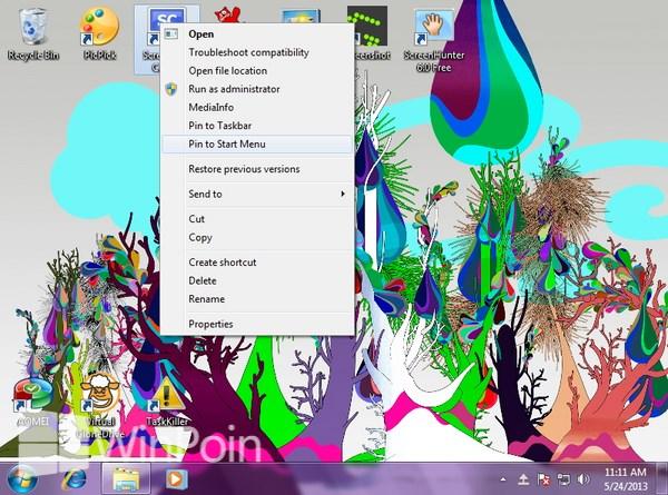 Cara Melakukan Pin File, Folder, Software atau Drive di Windows 7